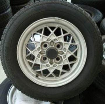 Billede af Golf 2 komplet hjulsæt