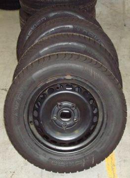 Billede af Audi A4 komplet hjulsæt