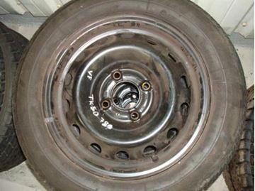 Billede af Peugeot 206 komplet hjulsæt