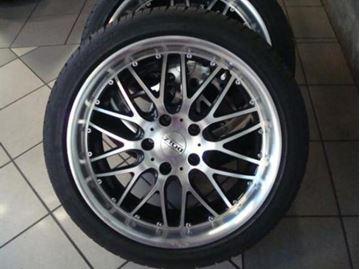 Billede af BMW E34-E39 komplet hjulsæt