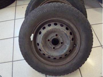 Billede af Opel Astra komplet hjulsæt