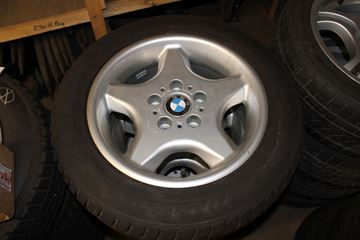 Billede af BMW E34 hjulsæt
